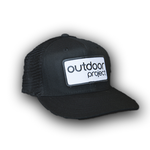 Outdoor Project Black Trucker Hat