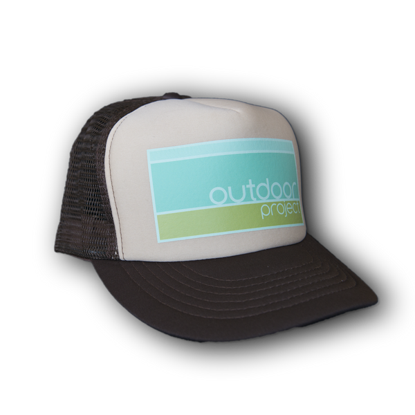 Outdoor Project Brown Trucker Hat