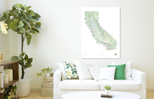 Load image into Gallery viewer, Outdoor Project California Wall Map