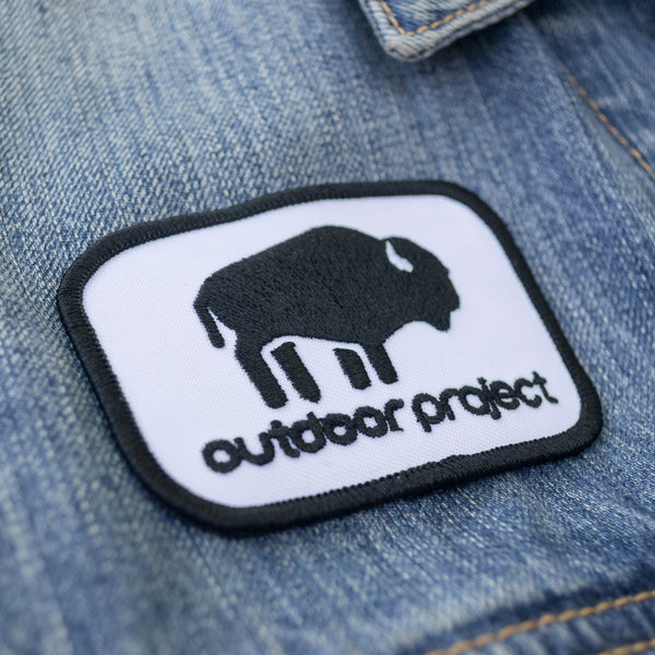 Outdoor Project Iron-on Embroidered Patch