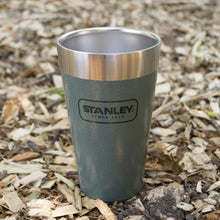 Load image into Gallery viewer, Outdoor Project + Stanley Insulated Pint - Green w/ Bison