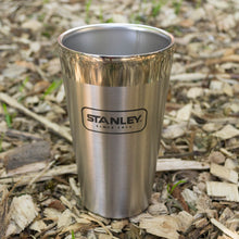 Load image into Gallery viewer, Outdoor Project + Stanley Insulated Pint - Stainless Steel w/ Bison