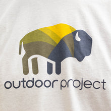 Load image into Gallery viewer, Outdoor Project Colorful Bison Tee - Men's
