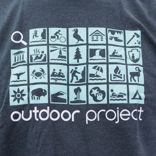 Outdoor Project Icons Tee - Men's + Women's