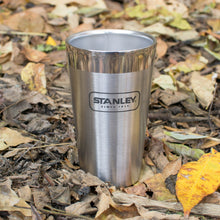 Load image into Gallery viewer, Outdoor Project + Stanley Insulated Pint - Stainless Steel w/ Seasons Motif