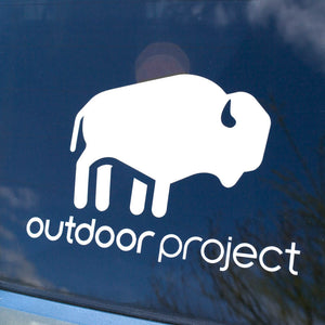 Outdoor Project Bison Transfer Sticker