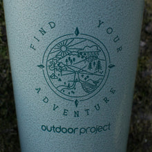 Load image into Gallery viewer, Outdoor Project + Stanley Insulated Pint - Green w/ Find Your Adventure
