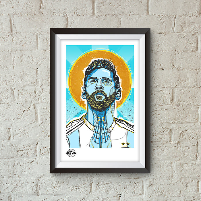 MESSI D10S GICLEE PRINT - Limited Edition