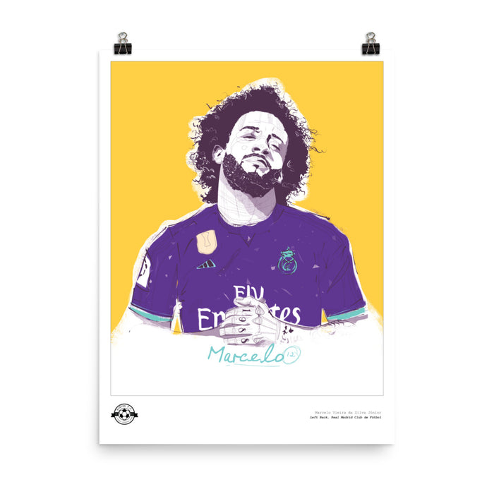 "18""x24"" Marcelo Illustration Poster"