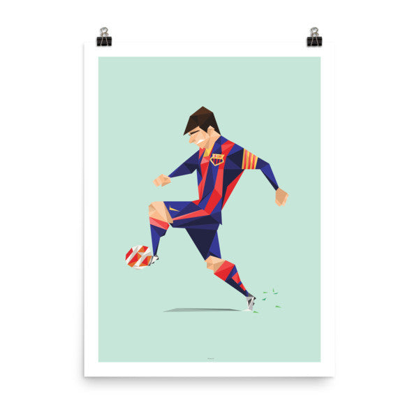 "18""x24"" Leo Messi Barcelona - Player Poster"