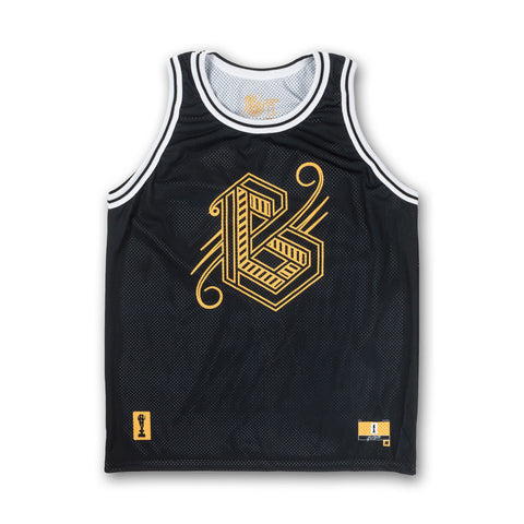 BG Jersey Tank in Black