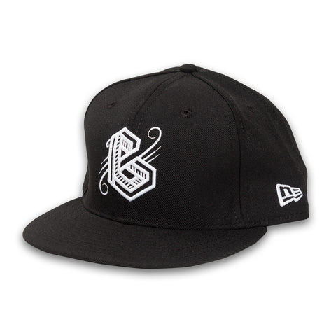 BG New Era Snapback in Black