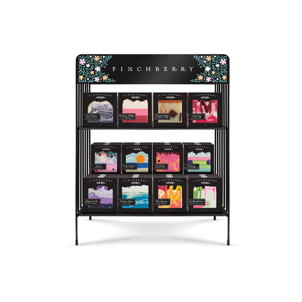 A3 Classic Collection with BOXED Soaps and a free small display (72 Unit Set)