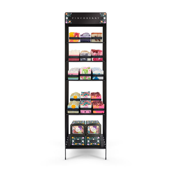 B1 Classic Collection with  UNBOXED Soaps and a free large display (136 Unit Set)