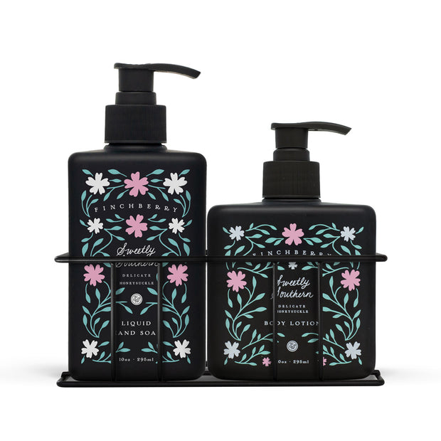 Sweetly Southern Combo Caddy - Hand Wash & Body Lotion - Set of 2 1