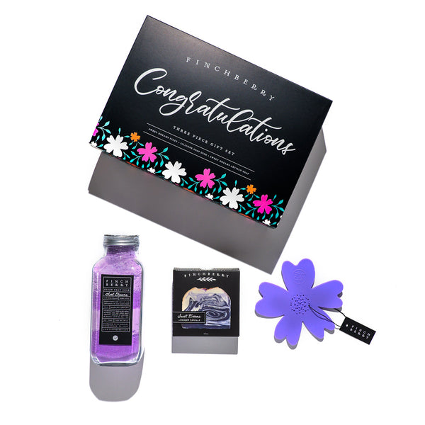 Congratulations Gift Set - 3 Piece Set