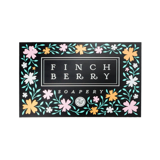 FinchBerry Display Sign 1