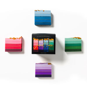 4-Bar Gift Set - Jewel Tone Collection