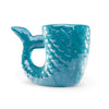 Blue Mermaid Tail Ceramic Mug (4 mugs)