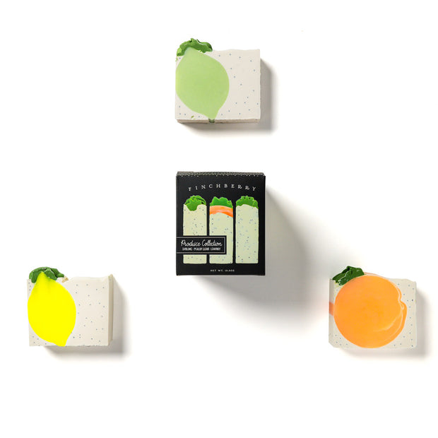 3-Bar Gift Set - Produce Collection - (Set of 4) 1