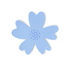 NEW - Blue Silicone Flower Soap Dish (set of 6 dishes)