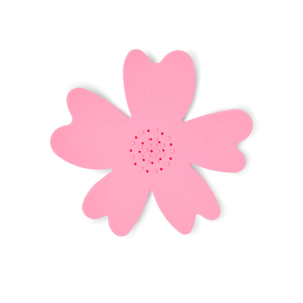 NEW - Light Pink Silicone Flower Soap Dish (set of 6 dishes) 1