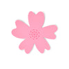 NEW - Light Pink Silicone Flower Soap Dish (set of 6 dishes)