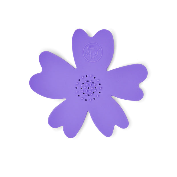 NEW - Purple Silicone Flower Soap Dish (set of 6 dishes) 1