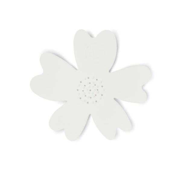 NEW - White Silicone Flower Soap Dish (set of 6 dishes)