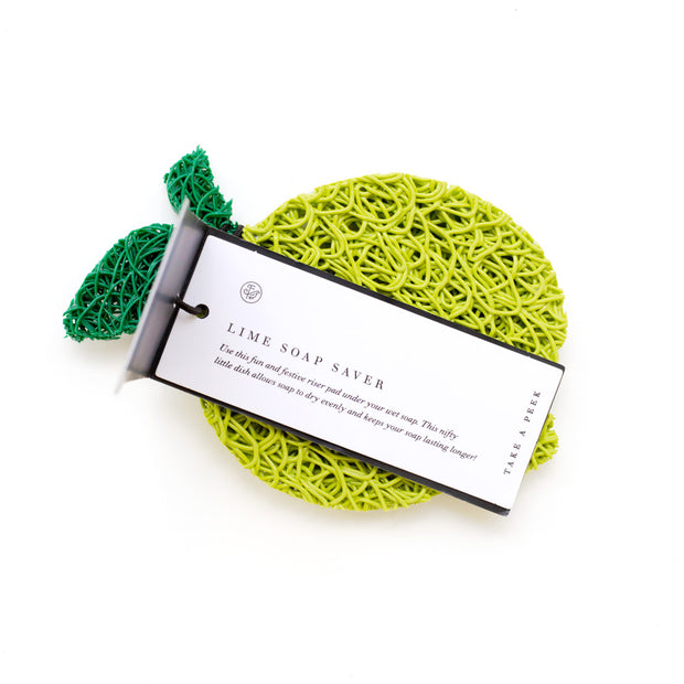 Lime Soap Saver - Set of 4 1