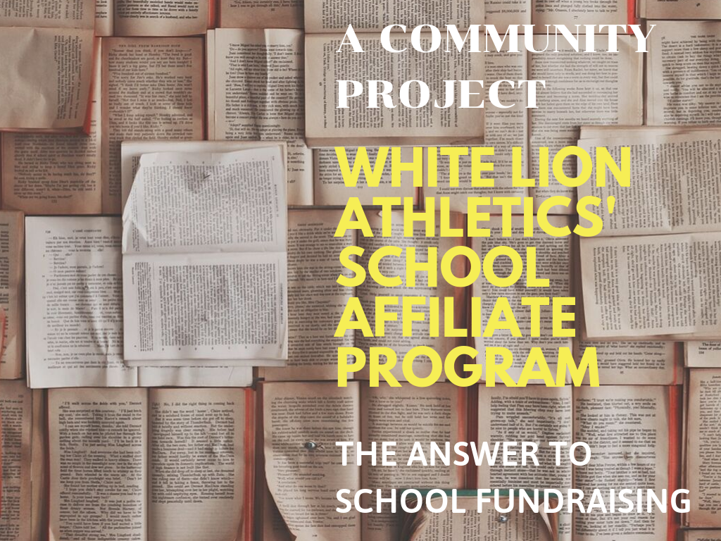 School Fundraising by White Lion Athletics: A Community Project