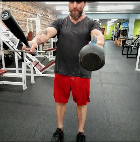 Steel Club and Kettlebell Swing