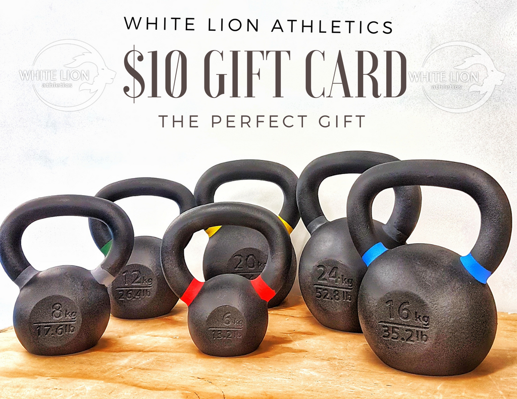 Gift Cards by White Lion Athletics