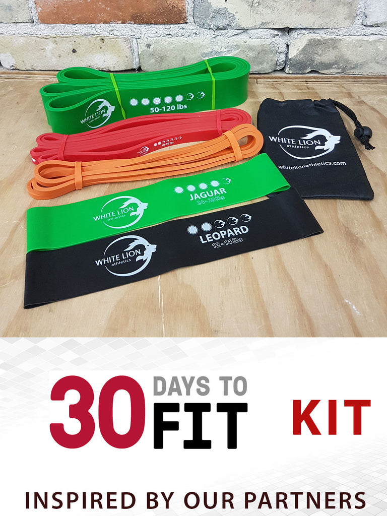 30 Days to Fit Kit | by Beverley Cheng - White Lion Athletics