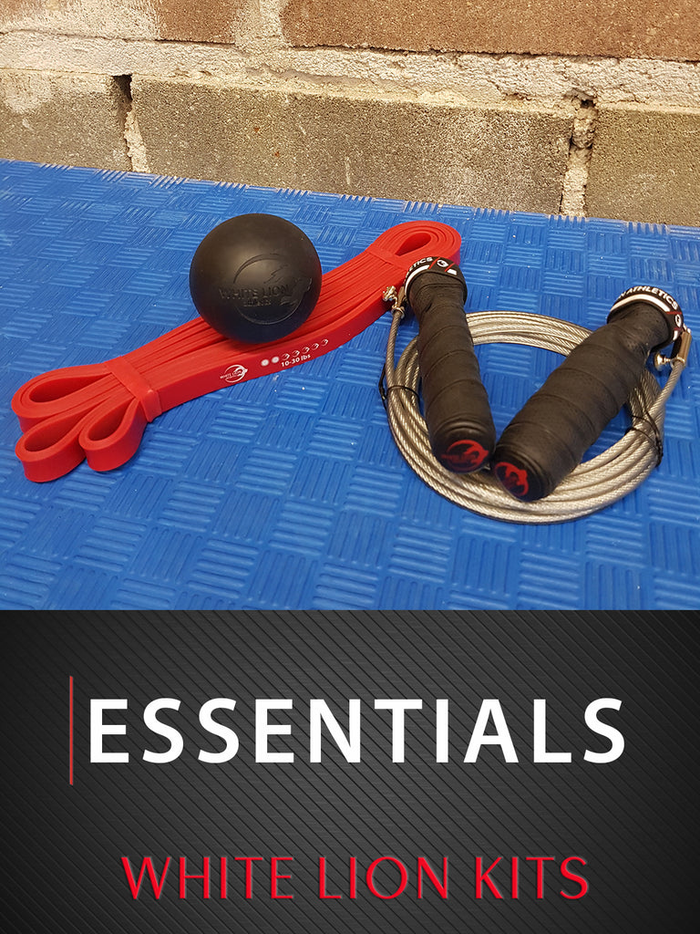Essentials KIT | Travel Friendly: Conditioning, Strength & Mobility - White Lion Athletics