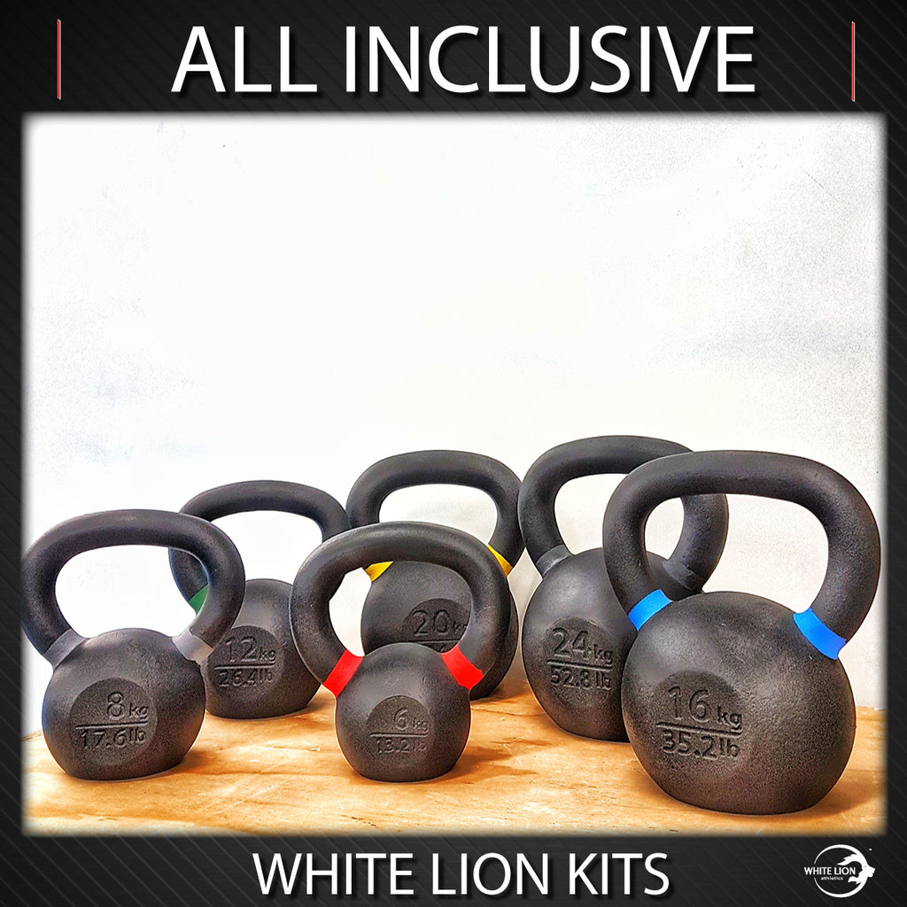 "Kettlebell Package: ""All Inclusive"" (6kg/8kg/12kg/16kg/20kg/24kg) (Arriving: Feb 2021)"
