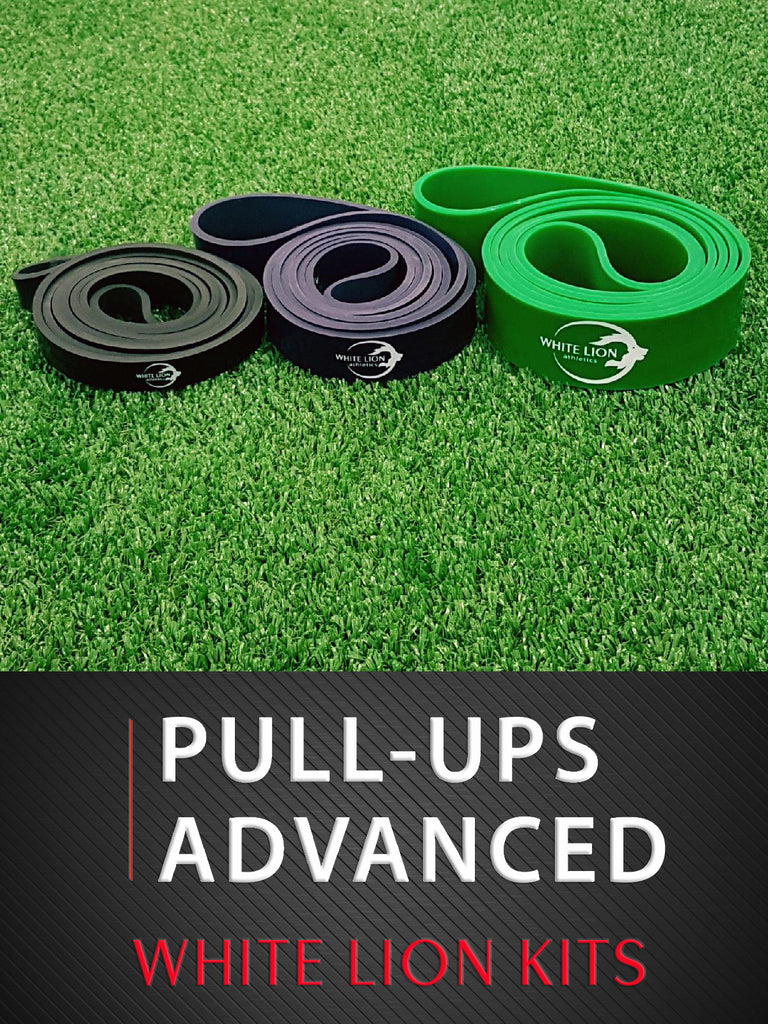 Pull-ups Advanced - Resistance Bands Kit - White Lion Athletics