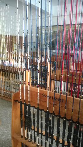 Osprey Fishing Rods: Spinning, casting and Jigging rods.