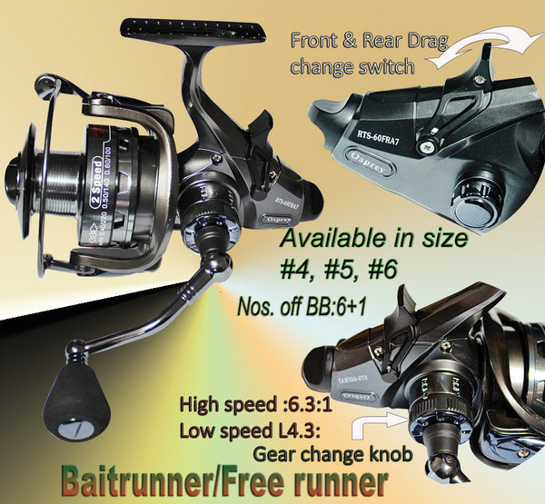 Osprey 2 speeds baitrunner