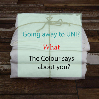 Going Away to Uni? What Does The Colour of Sheets Say About You?