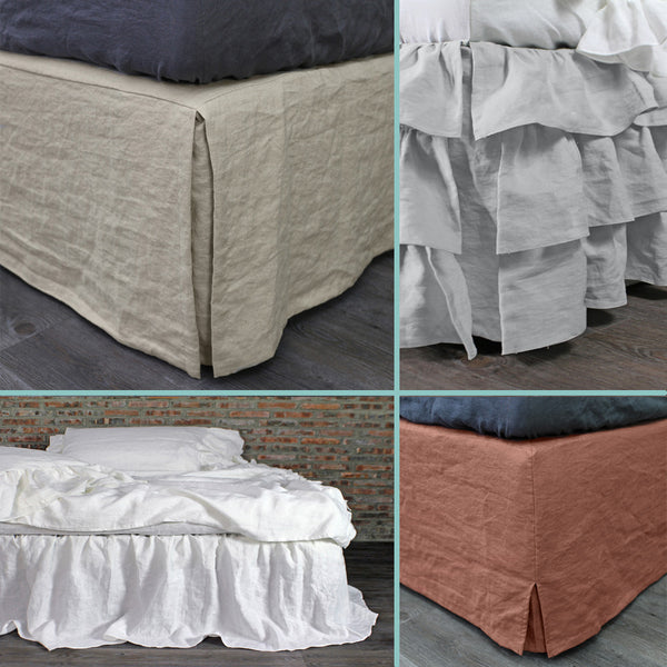 Bed Valance Collection - Linenshed