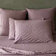 Housewife Linen Pillowcases Lilac (set of 2) - linenshed.au - 1