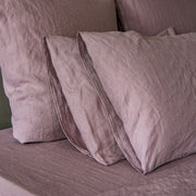 Housewife Linen Pillowcases Lilac (set of 2) - linenshed.au - 2