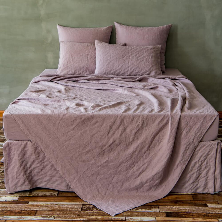 Basic Linen Top Sheet Lilac - Linenshed - 2