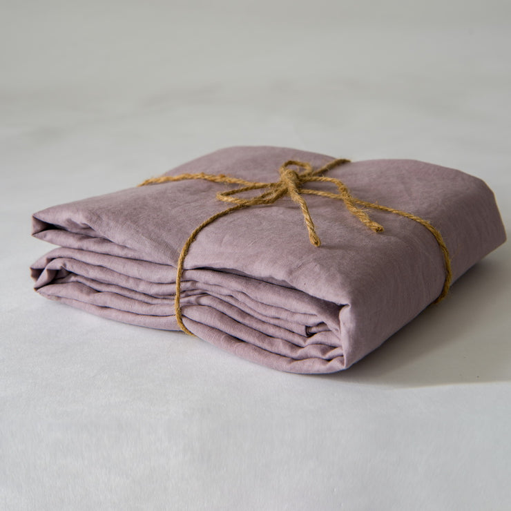 Basic Linen Top Sheet Lilac - Linenshed - 1