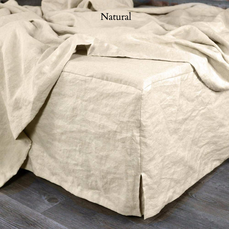 Linen Four Sided Bed Skirt - linenshed.au - 12
