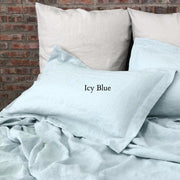 Flanged Linen Pillowcases (set of 2) - linenshed.au - 11