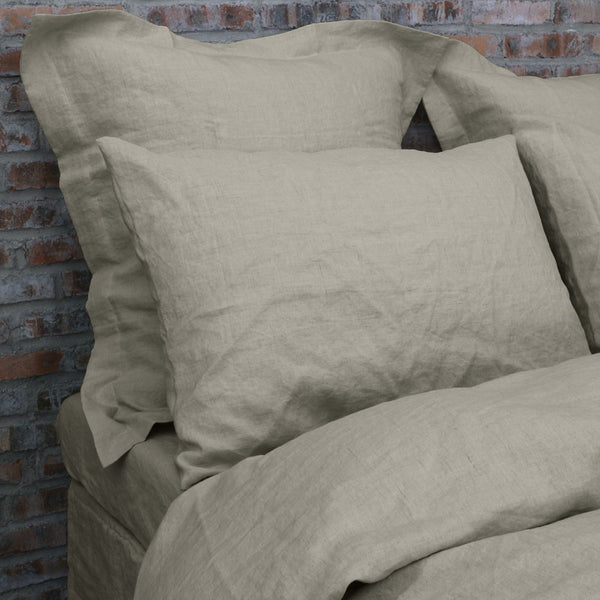 Gut Finest European Natural Linen Pillowslips Linenshed