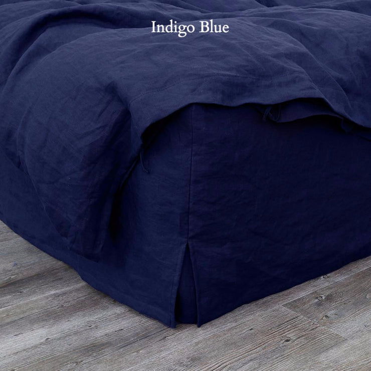 Linen Four Sided Bed Skirt - linenshed.au - 14