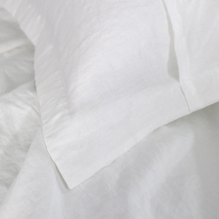 Flanged Linen Pillowcases (set of 2) - linenshed.au - 3